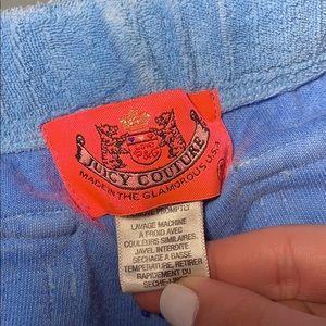 Juicy Couture Pants - Juicy Couture towel pants